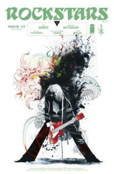 Rockstars issue 3 cover