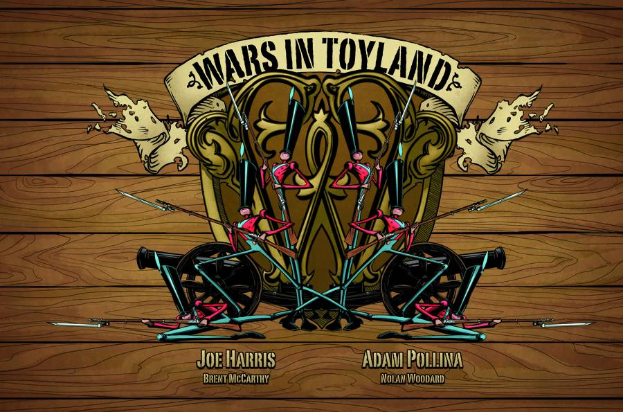 Wars In Toyland Cover